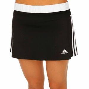 ADIDAS Response Climalite Black/White Skirt Size L